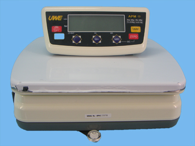 APM calibrated scale 30kg 10g