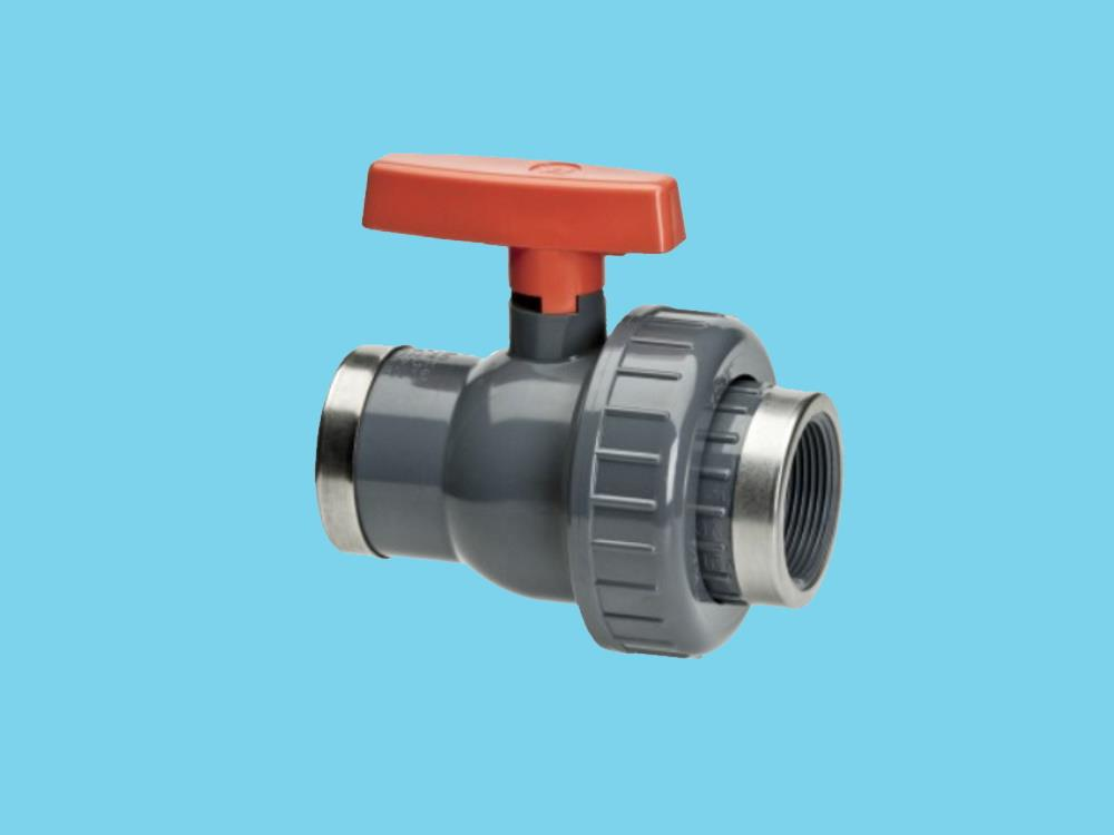 "Ball valve Eid 5/4"" x 32 epdm 16bar pvc"