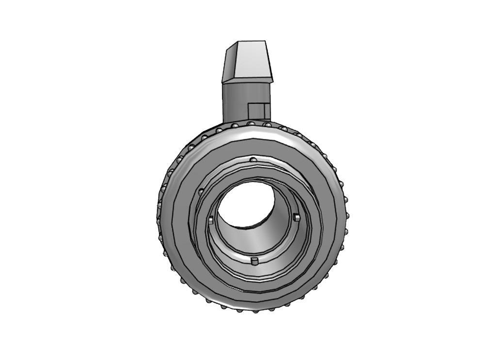 Ball valve Dil 20x20 viton pvc