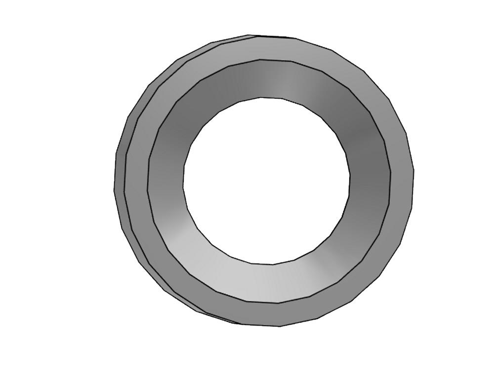 Reducing ring Ø32 x 20mm pvc