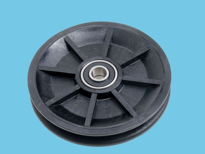 Cable pully ø100mm PDI including 2 bearings