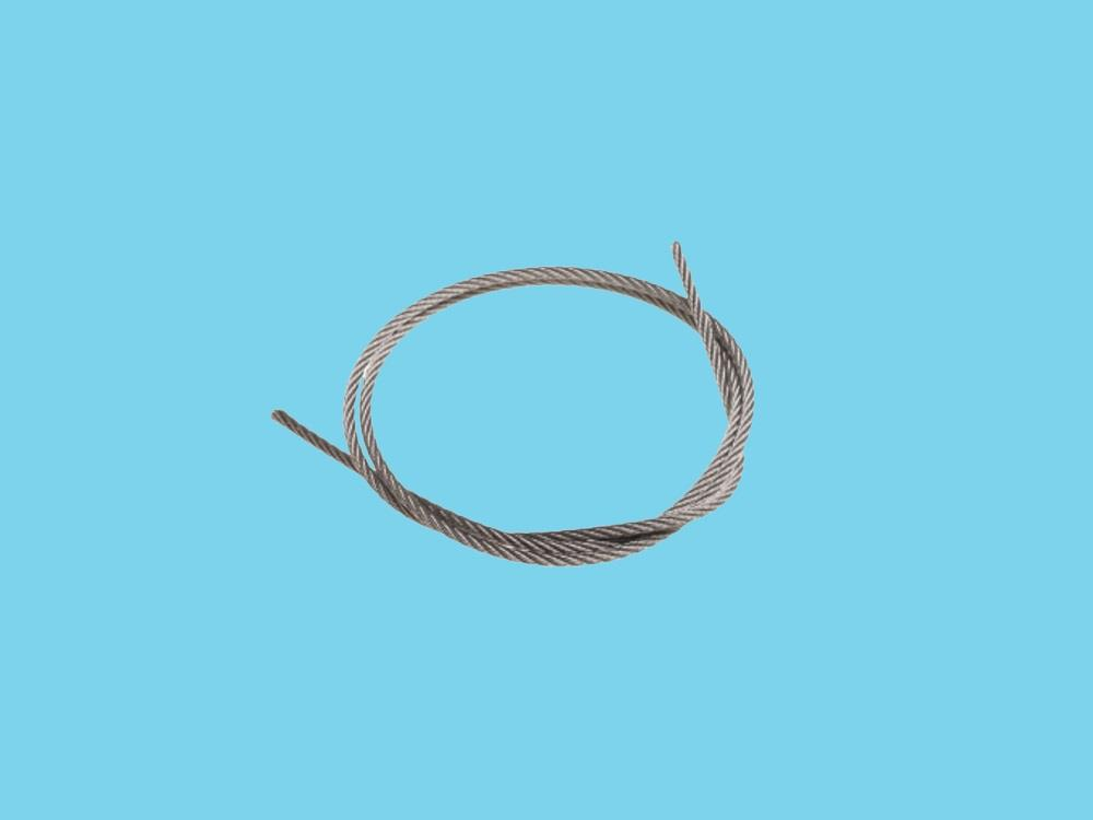 Steel cable 7 x 7; ø2,5mm stainless steel