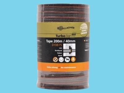 Tape electric fence terra 40mm 200m TurboStar