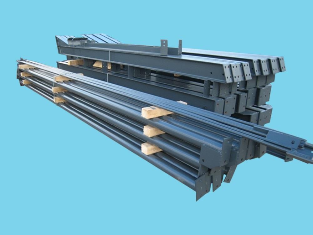 Construction industrial hall steel 8,0m x 20m HO Berg new