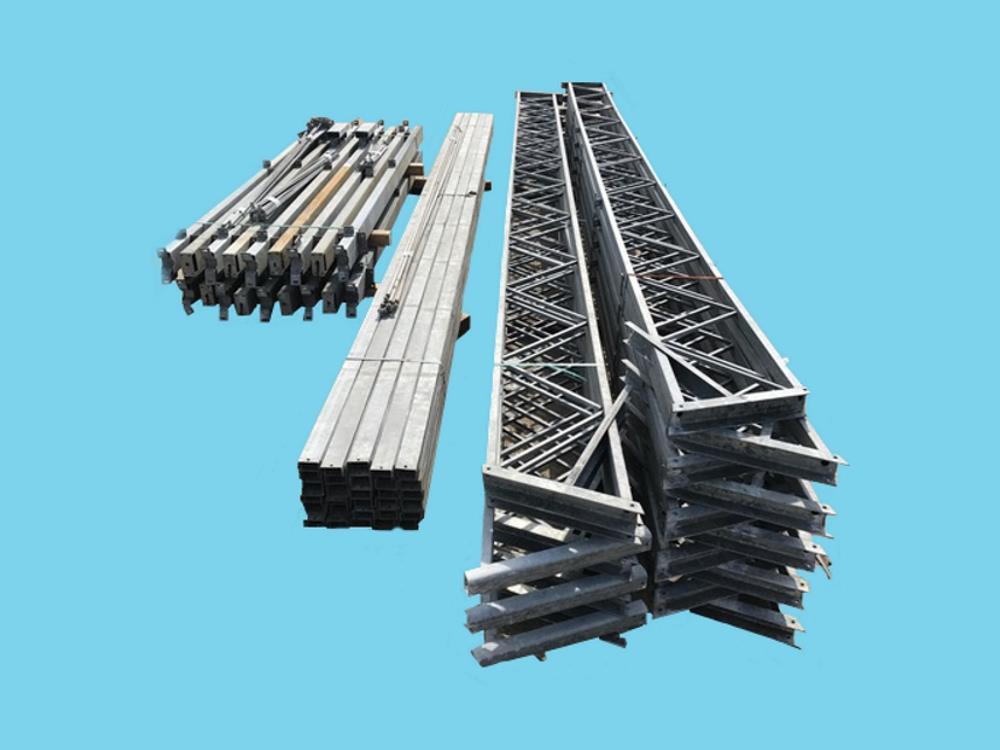 Construction industrial hall steel 12,8m x 32m HO Berg