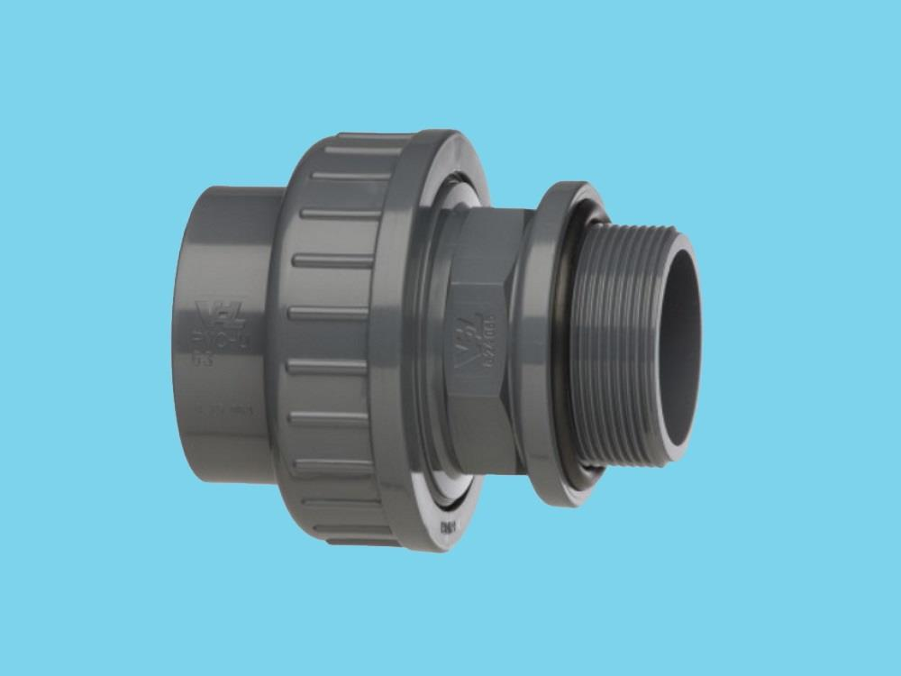 Adaptor union 40mm x 1 1/4