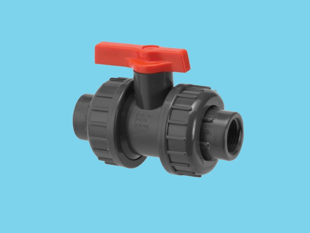 Labarotory ball valve double female s.w. (dil) 12mm dn 8