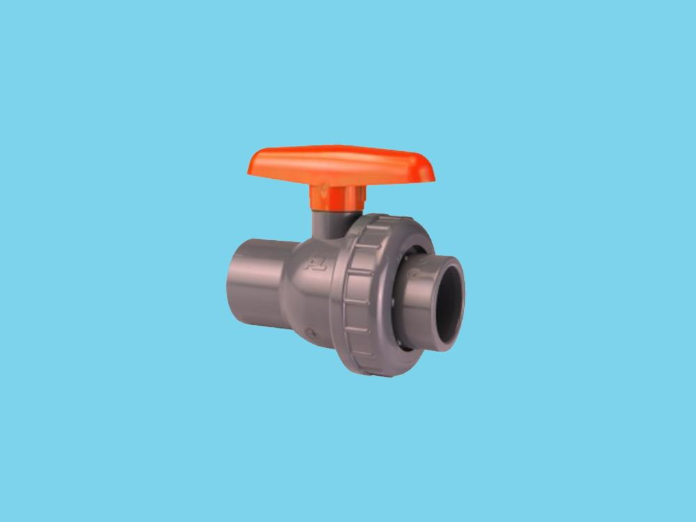 Pvc ball valve type: eil 40x40mm dn 32 pvc