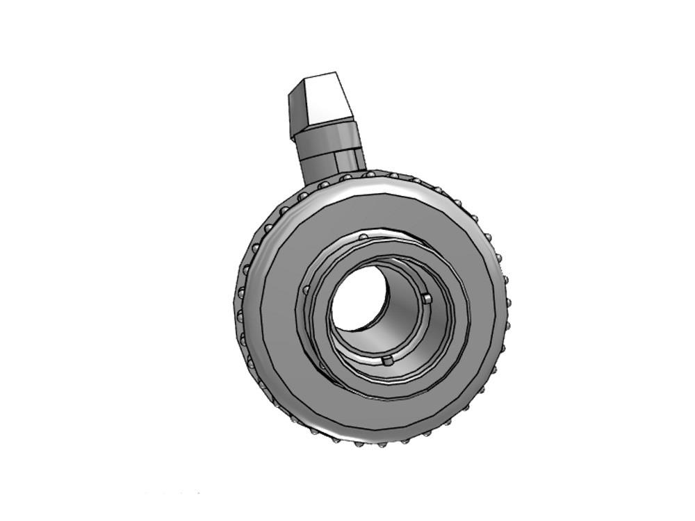 Pvc ball valve type: eil 16x16mm viton ® dn10 pvc