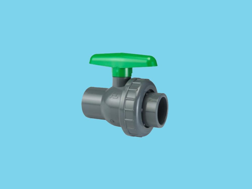 Pvc ball valve type: eil 50x50mm viton ® dn40