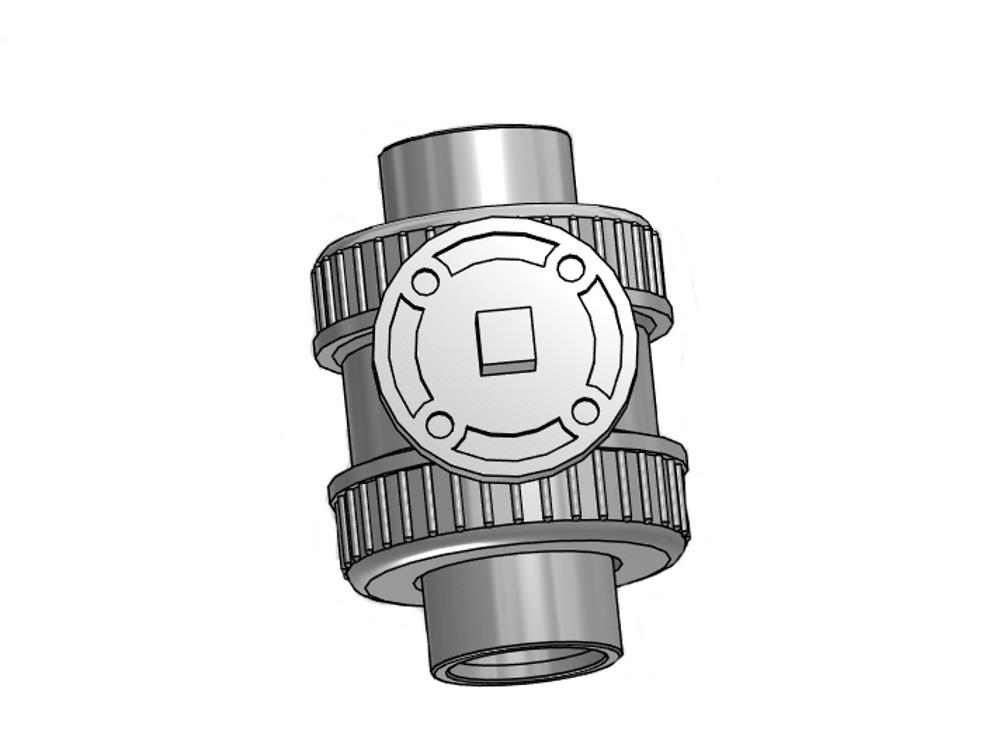 Iso-top ball valve 50mm epdm