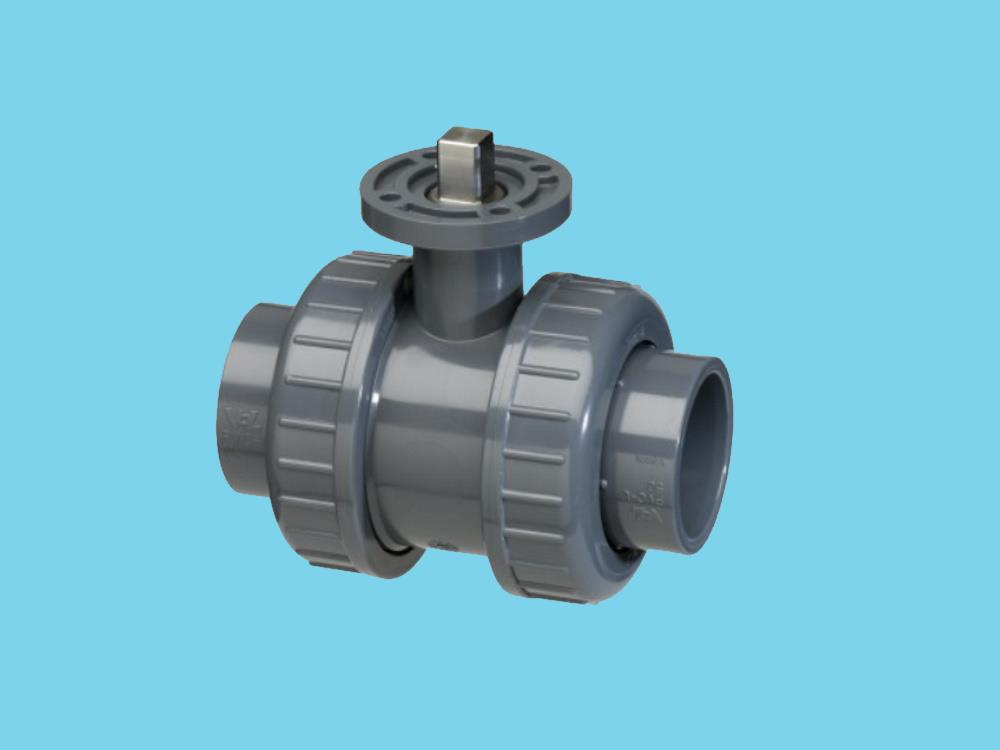 Iso-top ball valve 63mm epdm
