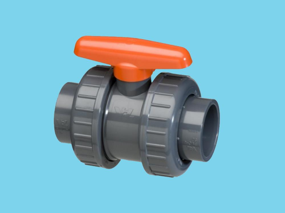 Pvc ball valve type: dil 90x90mm dn80