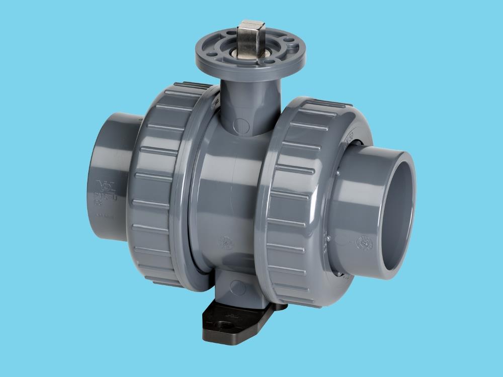 Iso-top ball valve 50mm viton®