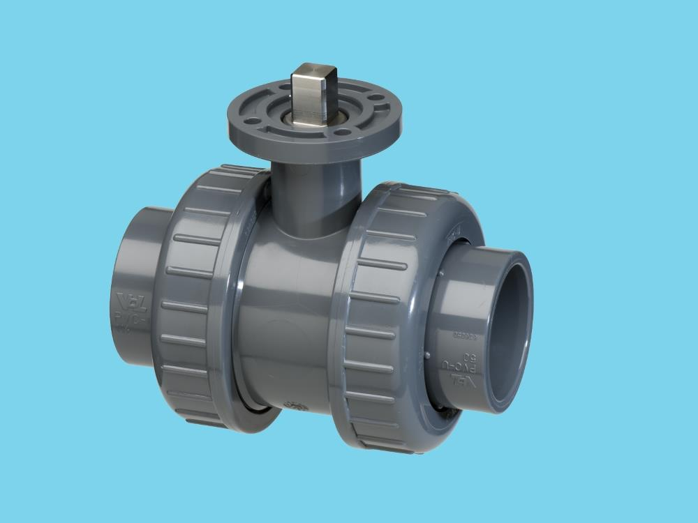 Iso-top ball valve 63mm viton®