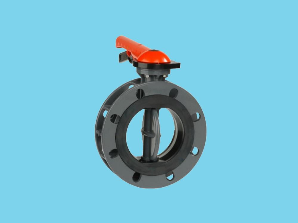 Butterfly valve 140mm dn125