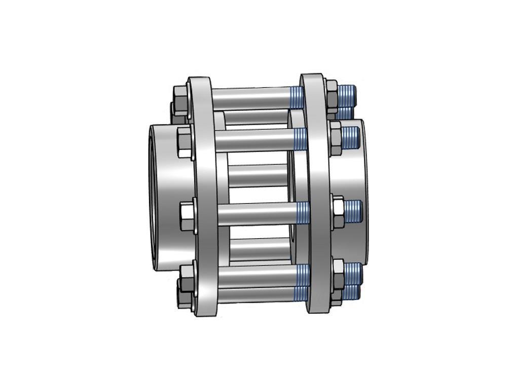 Kit for butterfl. valve 63 x 63mm dn65