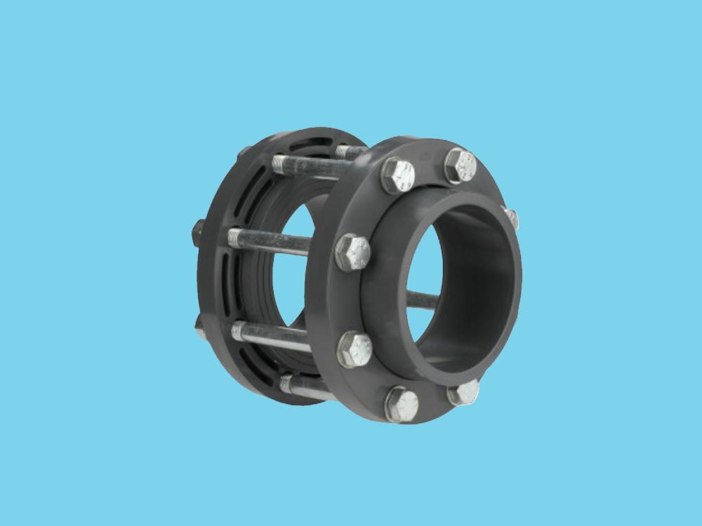 Kit for butterfl. valve 140 x 140mm dn125