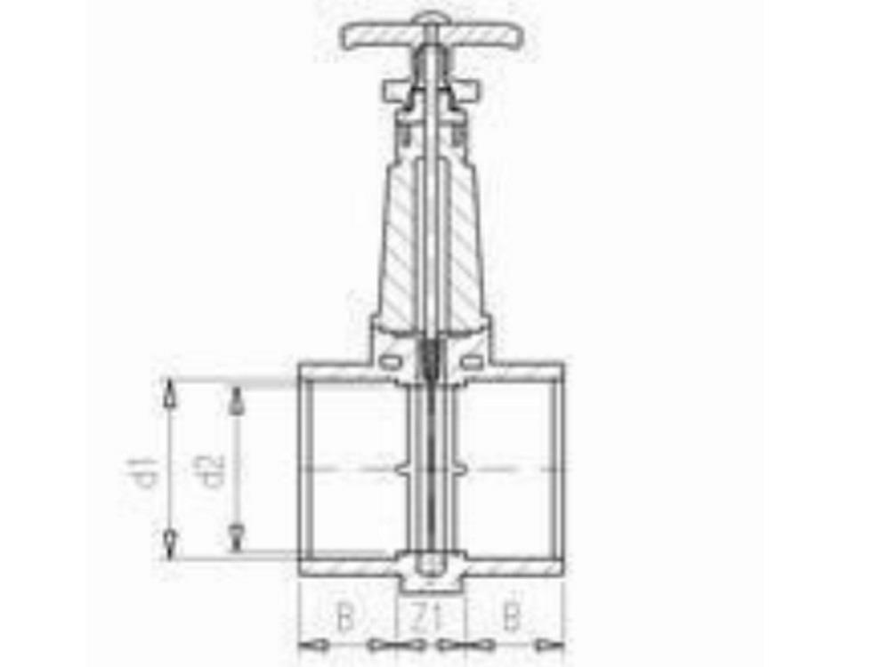 Slide valve dil 110mm (ss-slide)