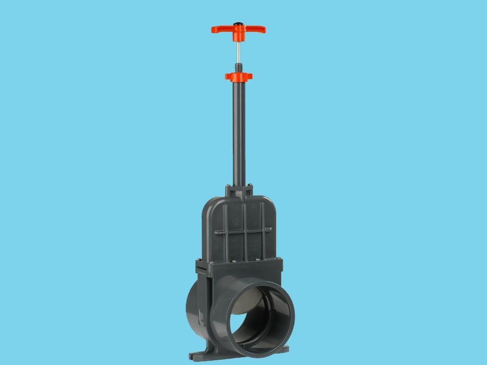 Slide valve dil 200mm (ss-slide) elongated 1000 mm