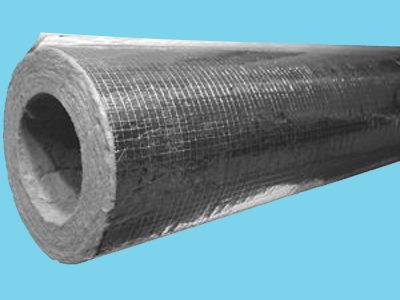 Rockwool Insulation pipe 25mm thickness for pipe 114mm