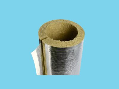 Rockwool Insulation pipe 40mm thickness for pipe 127mm