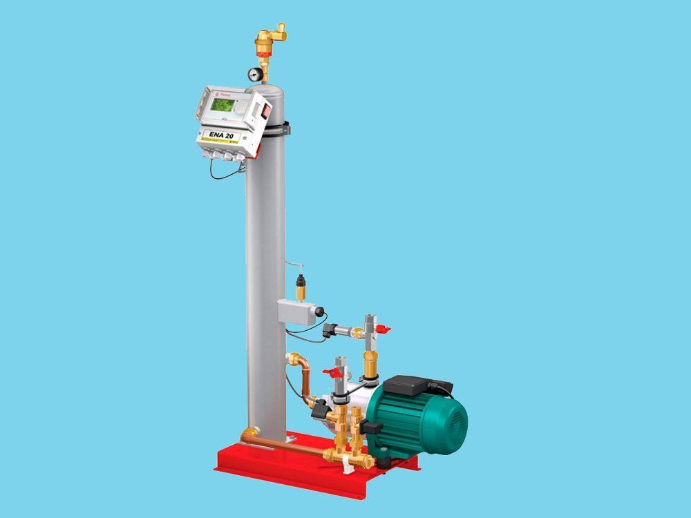 Flamco ENA vacuum degassing unit 10 with filterbagunit SDF6