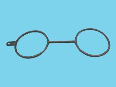 Gable hook 2x51mm single lip, 15 pieces