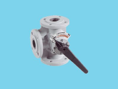 Centra 3-way mixing valve DR 100 GFLA - DN 100mm