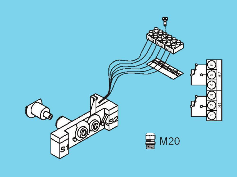Honeywell end switch for actuator ML6421/ML7421