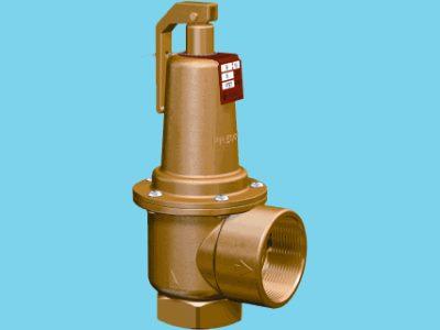 Flamco Prescor S700 safety valve 3 Bar 1,1/4