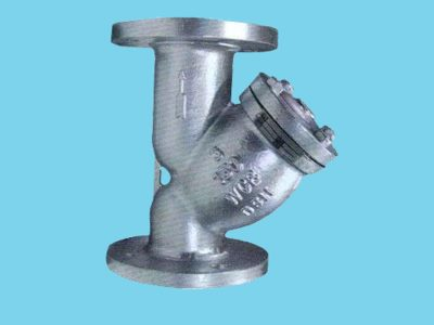Cast iron Y-filter/ strainer for neutral gases and water DN