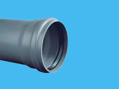 Pipe Ø400 x 7,8 x 600 mm+ cuff-socket KL51/SN2 PVC