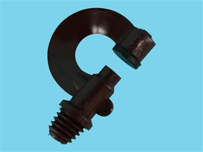 nylon watering nozzle brown ww3/8""
