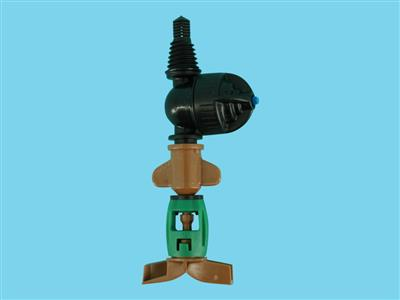 DAN-sprinkler with LPD-3/8ww 45ltr brown