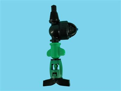 DAN-sprinkler with LPD-3/8ww 105ltr green