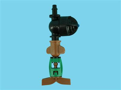 DAN-sprinkler with LPD-PE 45ltr brown