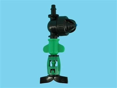 dan-sprinkler with lpd-pe 105ltr green