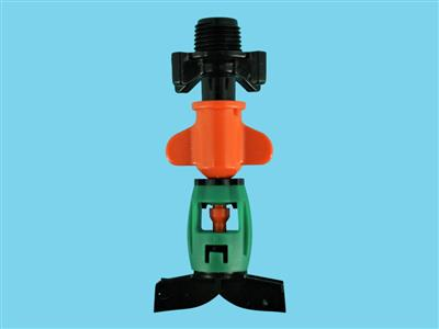 DAN-sprinkler with butterfly-M11 120ltr orange
