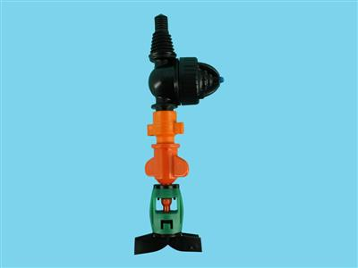 DAN-sprinkler with antimist LPD-3/8ww 70ltr orange