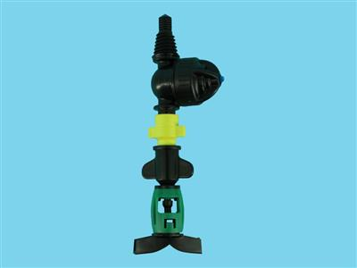 DAN-sprinkler with antimist LPD-3/8ww 90ltr black