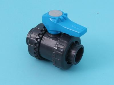 Ball valve FIP VEEIV Ø32 mm + 2 nuts pvc