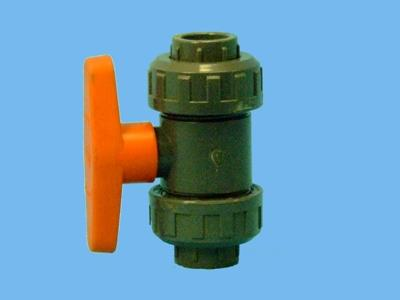 Ball valve Ø20mm solvent cement pvc