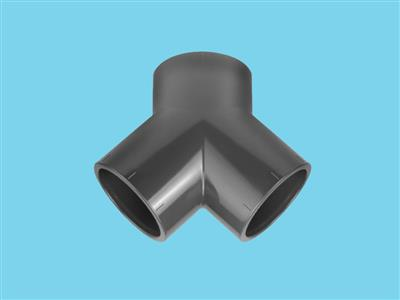 Y elbow Ø50 x 50 x 50 mm 16bar pvc