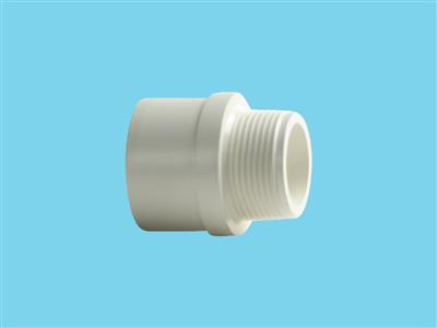 "adaptor nipple 32x40x1""white"