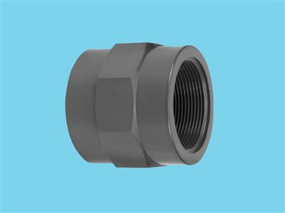 "adaptor socket 32x3/4"" fem pvc"