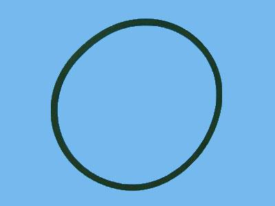 Rubber ring loose 110mm
