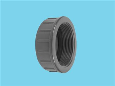 "Screwcap 2 3/4"" + ring  10bar pvc"
