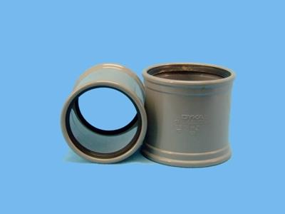 pvc sleeve (slide-over without internal lip)  125mm