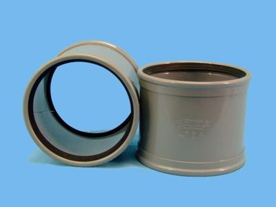 pvc sleeve (slide-over without internal lip)  160mm